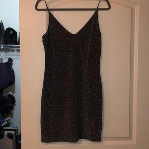 H&M Dresses - H&M Black / Silver Sparkel